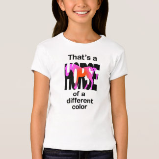 That's a Horse of a Different Color Print T-Shirt