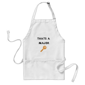 Thats a major key emoji standard apron