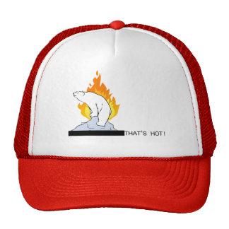 That's hot! mesh hat