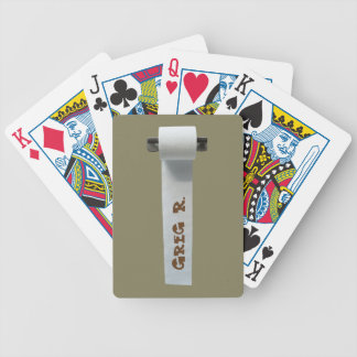 That's how I roll! Bicycle Playing Cards