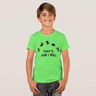 That's How I Roll Gymnastics Parkour Cheer T-Shirt