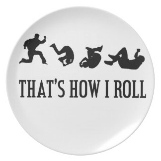 That's How I Roll.png Plate