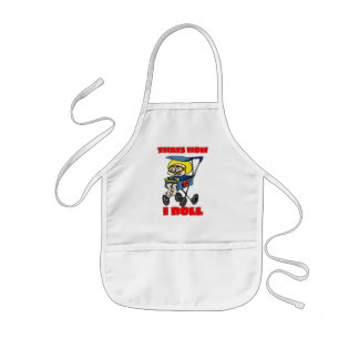 That's How I Roll. Toddler in a Stroller Aprons