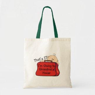 That's it Grandma Budget Tote Bag