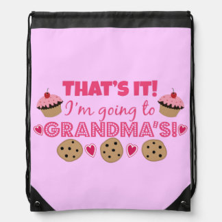 That's it! I'm going to Grandma's! Rucksacks