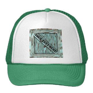 That's just Crate! - Aqua Wood - Hat