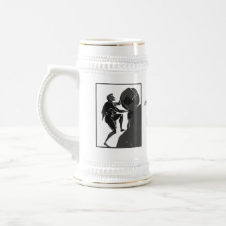 That's Just How I Roll --Sisyphus Beer Stein