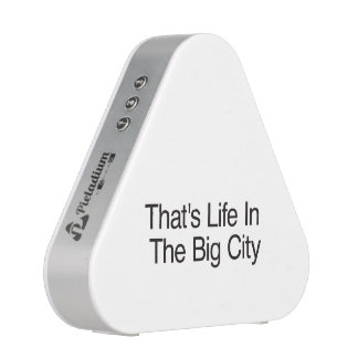 That's Life In The Big City Bluetooth Speaker