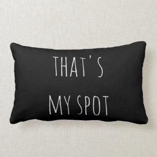 That's my spot throw pillow
