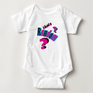 That's Random Baby Baby Bodysuit
