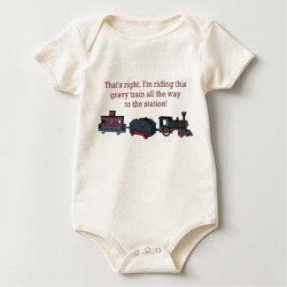 That's right, I'm riding this gravy train... Baby Bodysuit
