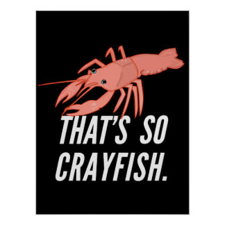 That's so crayfish poster