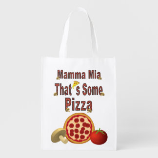 That's Some Pizza Reusable Grocery Bag
