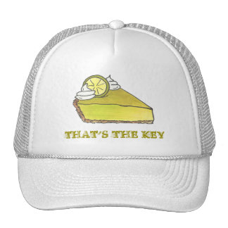 That's the Key Green Lime Pie Slice Trucker Hat