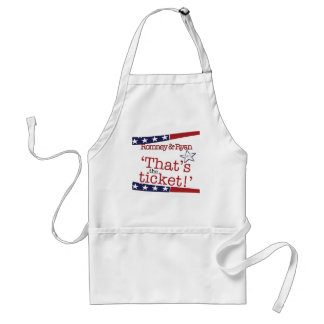 That's the ticket! Romney & Ryan Standard Apron