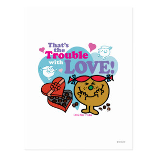 That's the Trouble with Love! Postcard