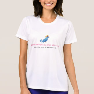 That'sWhatSheTweets.com - Ladies Performance Micro T-Shirt
