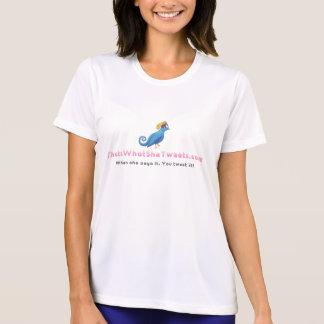 That'sWhatSheTweets.com - Ladies Performance Micro T-shirts