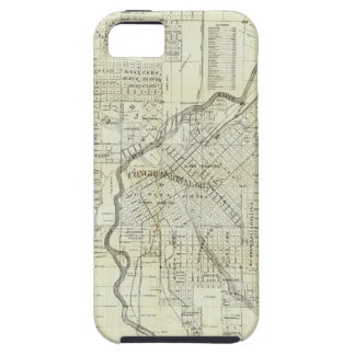 Thayer's Map of Denver Colorado iPhone 5 Covers