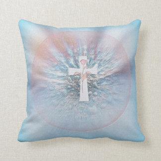 Thd Cross, beautiful Mojo pillow Throw Cushion