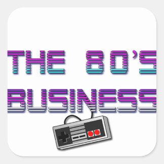 The80'sBusiness Sticker