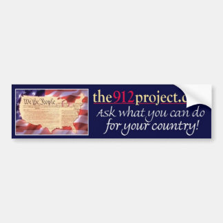the912project.com America bumper sticker