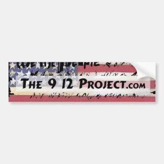 The912Project.com bumper sticker