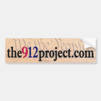 the912project.com bumper sticker