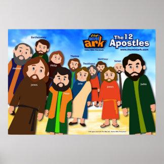 The 12 Apostles Poster