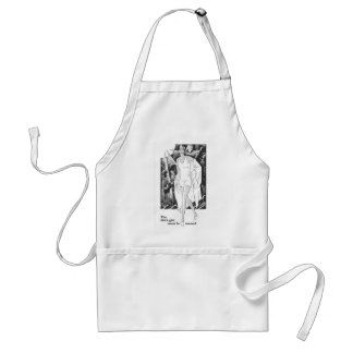 The 1929 Girl must be Tanned Standard Apron