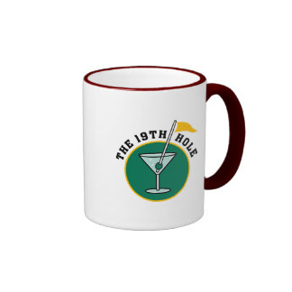 The 19th Hole Funny Golf Dadism gift Mugs