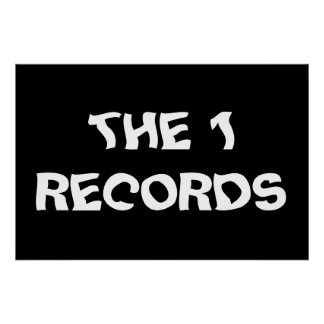 ThE 1 ReCoRdS Print