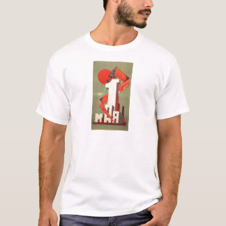 'The 1st of May' constructivism print T-Shirt