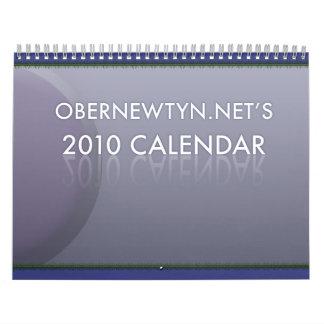 The 2010 Obernet Calendar! Wall Calendars
