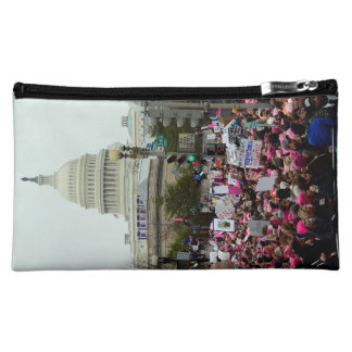 The 2017 Womens March on Washington, dbl. side Makeup Bag