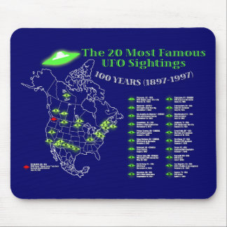 The 20 most famous UFO sightings Mousepad