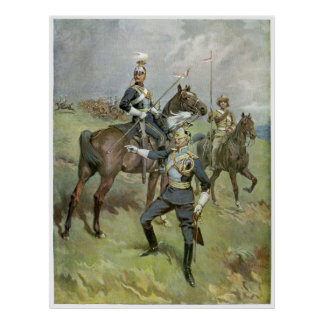 The 21st Lancers - British Army Poster