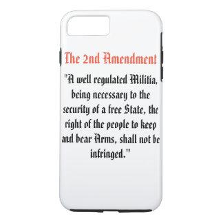 The 2nd Amendment iPhone 8 Plus/7 Plus Case