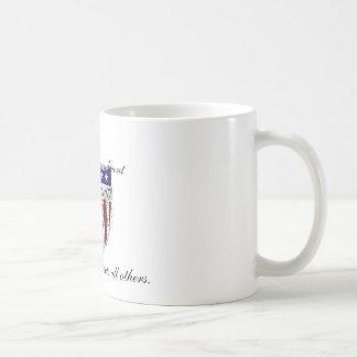 The 2nd Amendment, secures and protec... Basic White Mug