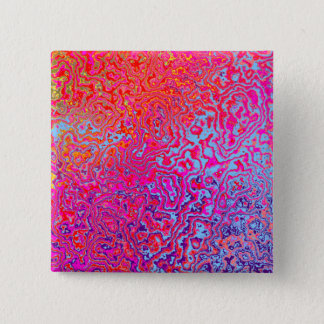 The 30 an abstract 15 cm square badge