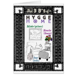 The 3 B's of a Hygge Home Card
