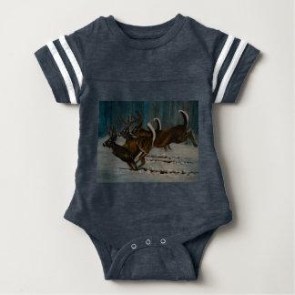 The 3 Deers Baby Bodysuit