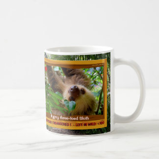 The 3-toed Sloth is endangered - Coffee Mug