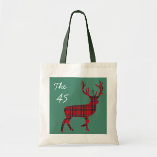 The 45 Scottish Independence Tartan Stag Bag