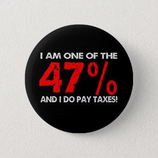 The 47 Percent 6 Cm Round Badge