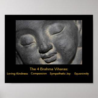 The 4 Brahma-Viharas Posters