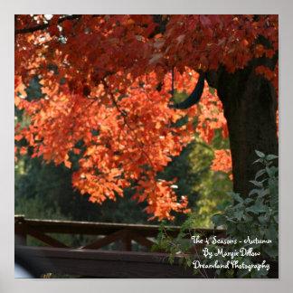 The 4 Seasons - Autumn Poster