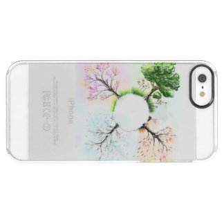 The 4 seasons clear iPhone SE/5/5s case