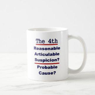 The 4th Amendment Coffee Mugs