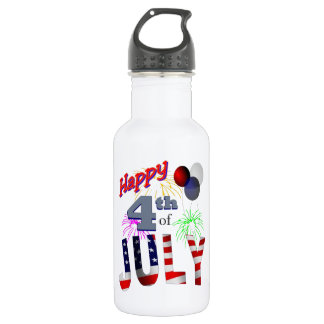 The 4th of July 532 Ml Water Bottle